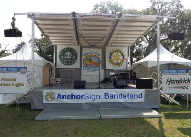 Complete Production Stage Presence Event Rentals Charleston, SC