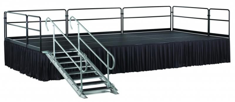 Stage Skirting Stage Presence Event Rentals Charleston, SC